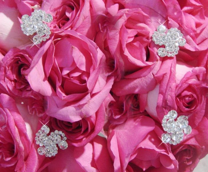 Crystal Swirls Bouquet Jewelry Dazzling
