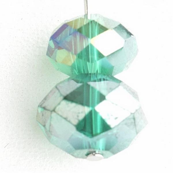 * Emerald Green Dangle Earring Set 7619