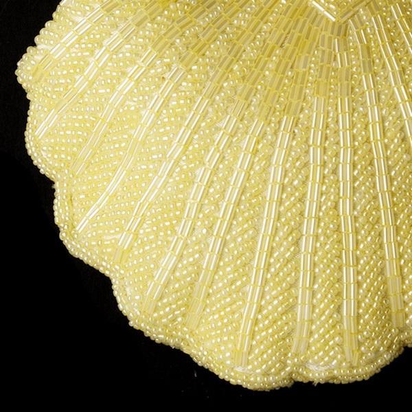 Elegant Black Beaded Shell Evening Bag 101
