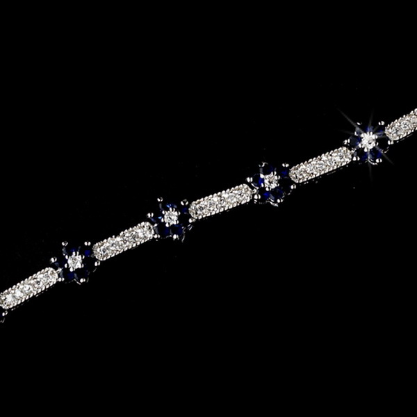 Bracelet 2015 Silver Sapphire