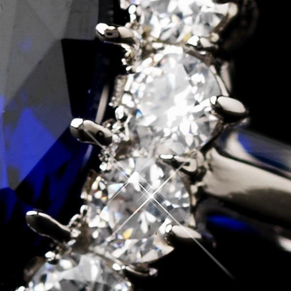 Royal Princess Kate Middleton Inspired Sapphire CZ Ring 5675