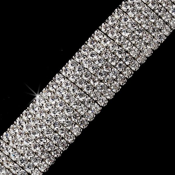 Fabulous Silver Clear Crystal Bracelet 2233