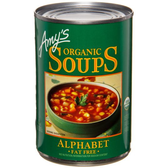 Amy's Alphabet Soup, Organic - 14.1 ozs.