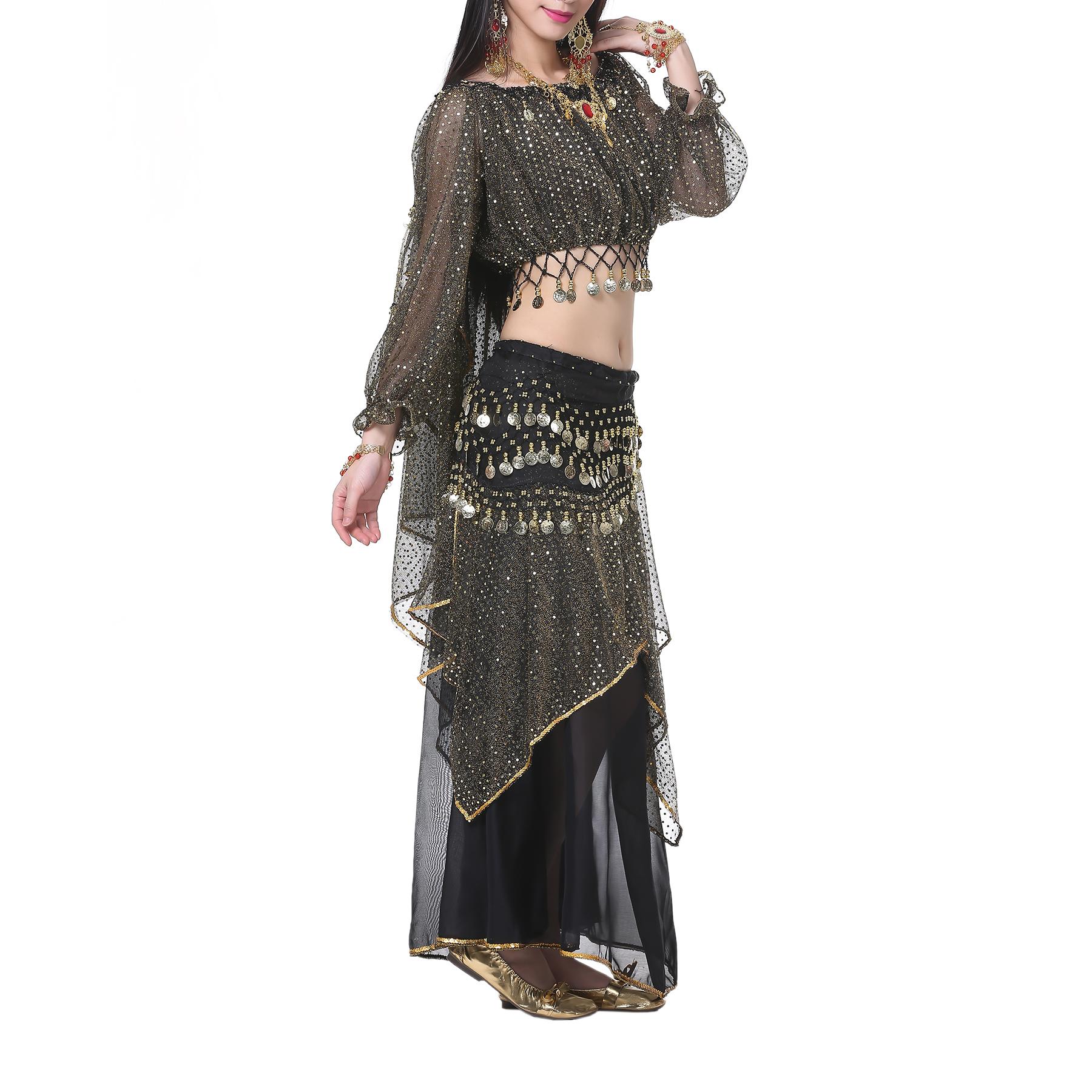 gypsy coin wrap skirt