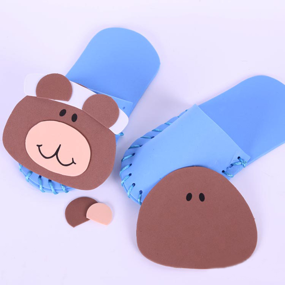 Design Your Own! Lovely Bear Slippers, Graduation Gift