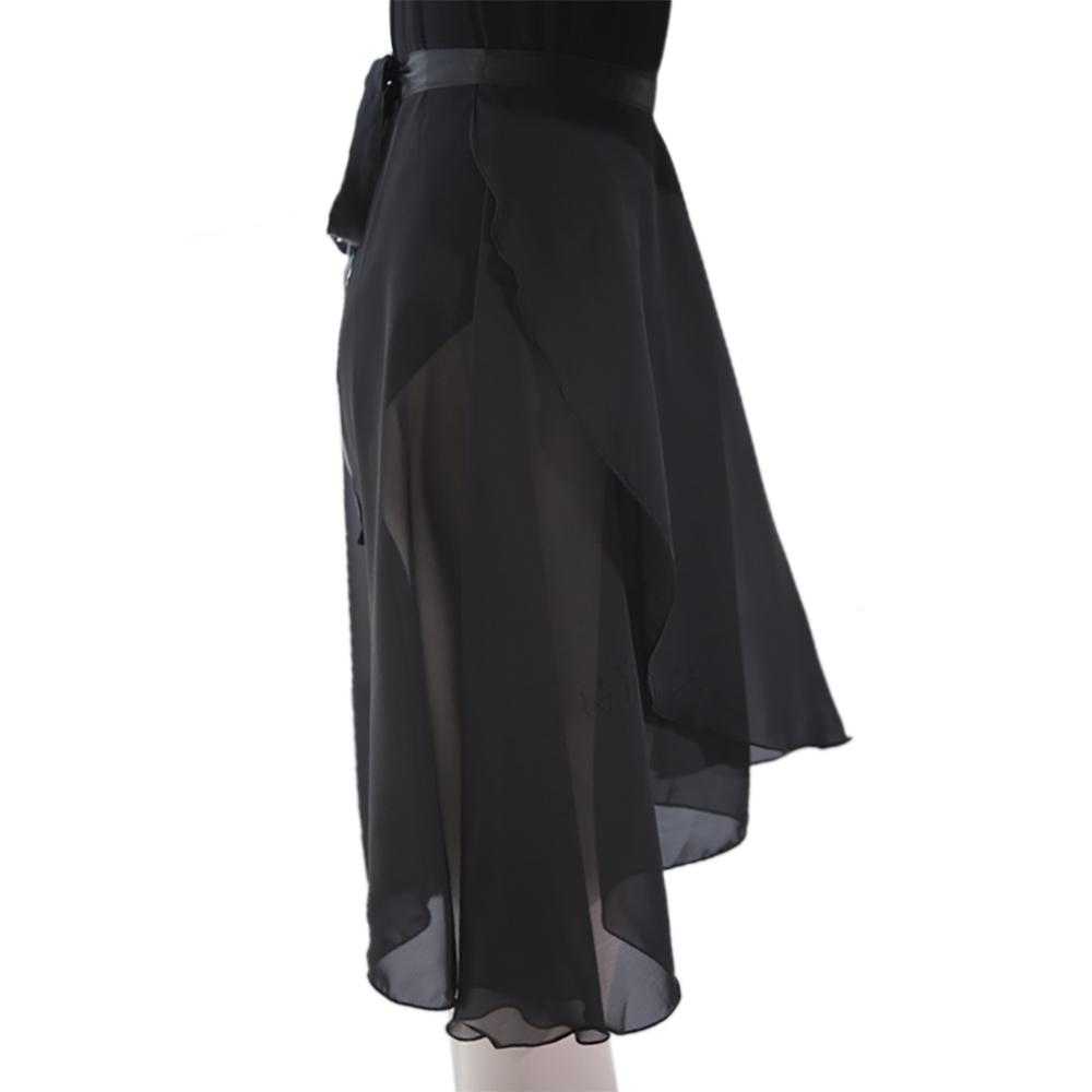 GOGO-TEAM-Adult-Sheer-Tutu-Wrap-Skirt-Long-Dress-Ballet-Dance-Dancewear-Ribbon thumbnail 6