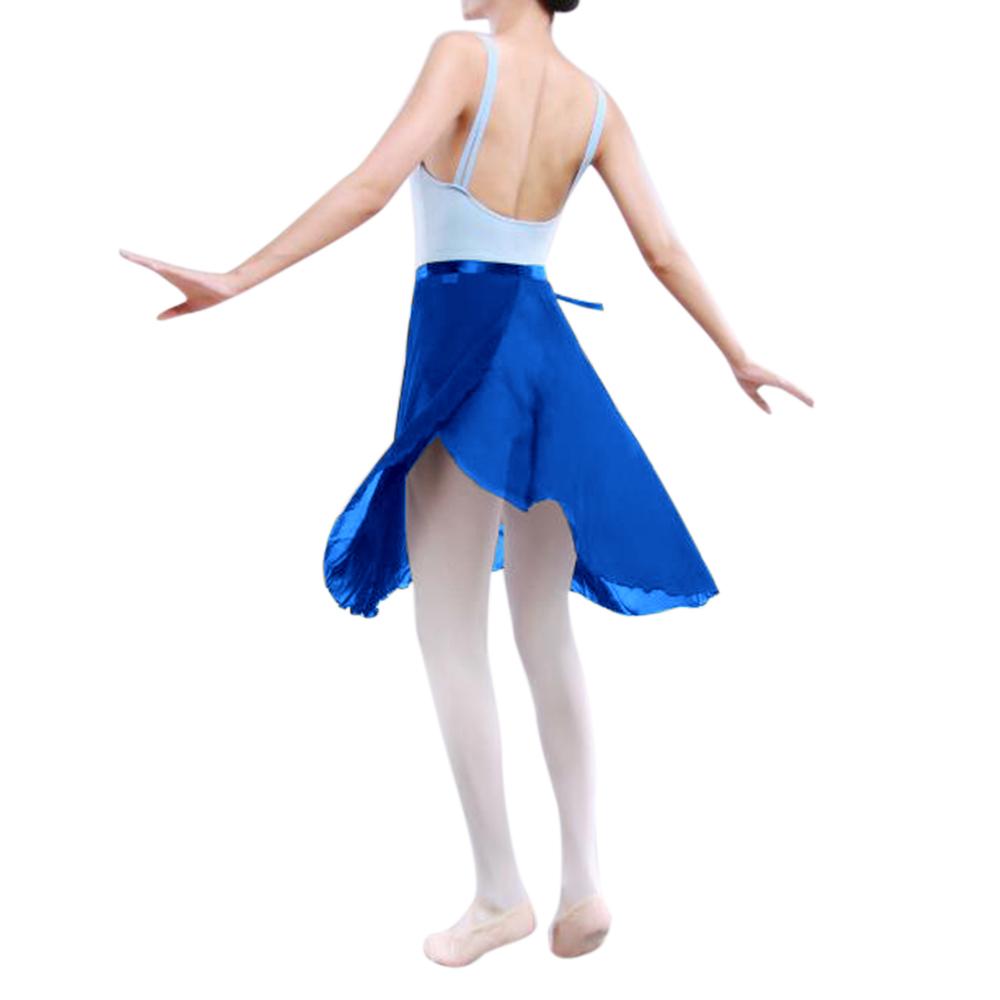GOGO-TEAM-Adult-Sheer-Tutu-Wrap-Skirt-Long-Dress-Ballet-Dance-Dancewear-Ribbon thumbnail 16