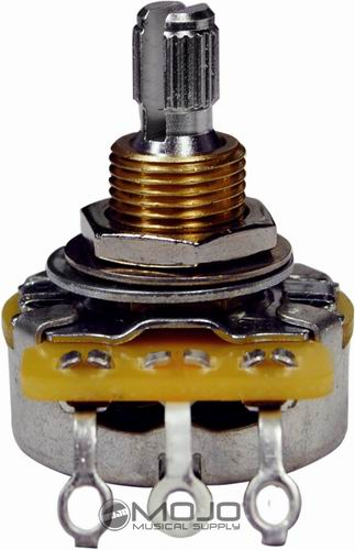 Mojotone CTS 500K Short/Split Shaft Potentiometer
