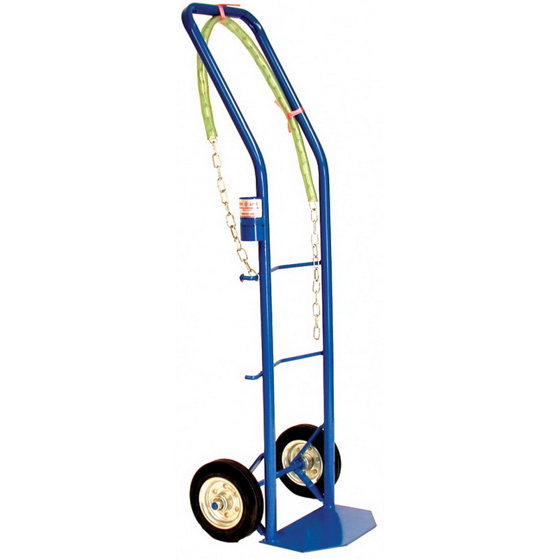 "National Spencer Hand Truck W/ Drum Chain 6"" Rubber Tires. 450 Lb. Capacity"