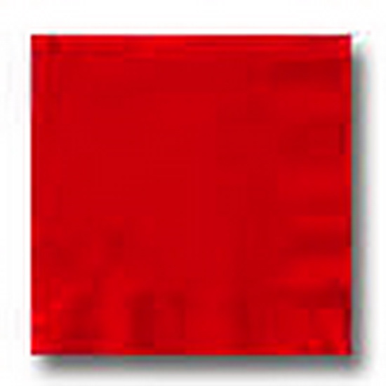 RED 3 PLY DINNER NAPKIN