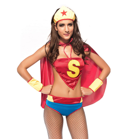 Deluxe Supergirl Adult Costume