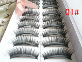 ALICE Black Thick False Eyelashes, Gift Idea