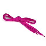 High Quality Flat Shoelaces, Hot pink, Breast Cancer Awareness Color