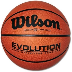 Wilson Evolution Men's Indoor Basketball, Price/EA