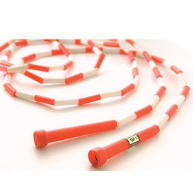 US Games 10' Segmented Skip Rope Red/White, Price/EA