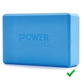 Yoga Blocks 3&quot; - Blue, Price/EA