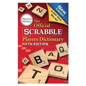 MERRIAM WEBSTER Scrabble Dictionary, Price/EA