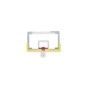 Bison Unbreakable Short Glass Backboard, Price/EA