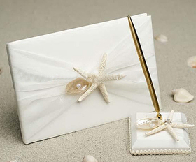 Star of Ocean Guest Book with Pen, Price/1 Set