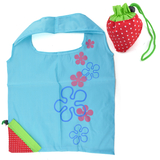 Reusable Shopping Tote Bag - Folded Into A Strawberry, Gifts Ideas (Price for 10Pcs) 6 Colors Available