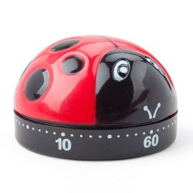 "Aspire 60-Minute ""Cute Little Ladybug"" Kitchen Timer, Mechanical Timer, Price/Piece"