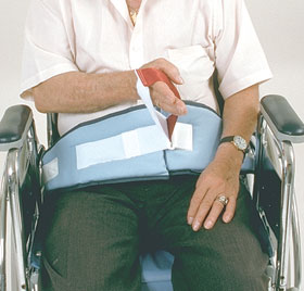 AliMed 8780 SkiL-Care Easy-Release Soft Wheelchair Belt