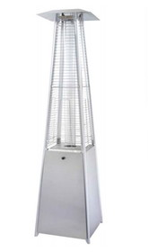 PrimeGlo HLDS01-GTSS Tall Quartz Glass Tube Heater-Stainless Steel