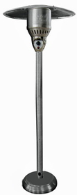 "PrimeGlo NG-SS 85"" Natural Gas Outdoor Patio Heater- 304 Stainless Steel"