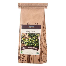 Azure Farm Organic Green Split Peas - 40 ozs.