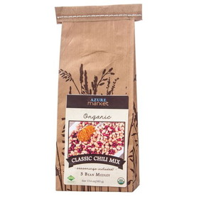 Azure Farm Classic 3-Bean Chili Mix, Organic - 13.6 ozs.