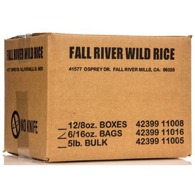 Fall River Wild Rice - 6 x 1 lb.
