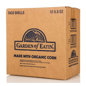 Garden of Eatin' Taco Shells, Blue Corn - 12 x 5.5 ozs.