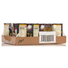Amy's Refried Black Beans, Organic - 12 x 15.4 ozs