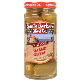 Santa Barbara Garlic Stuffed Olives - 5 ozs.