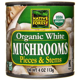 Native Forest Mushrooms, Organic - 4 ozs
