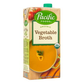 Pacific Foods Vegetable Broth, Organic - 32 ozs.