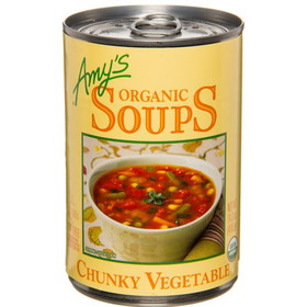 Amy's Chunky Vegetable Soup, Organic - 14.3 ozs.