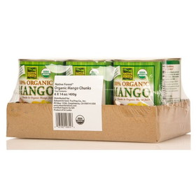 Native Forest Mango Chunks, Organic - 6 x 14 ozs.