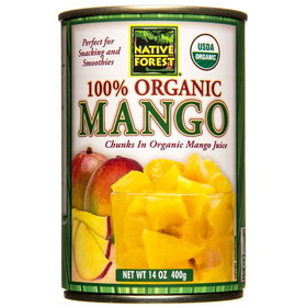 Native Forest Mango Chunks, Organic - 14 ozs.