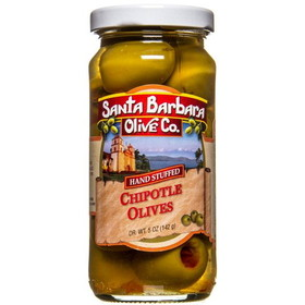 Santa Barbara Chipotle Stuffed Green Olives - 5 ozs.