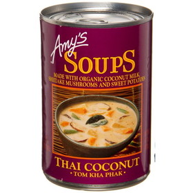 Amy's Thai Coconut Soup, Organic - 14.5 ozs.