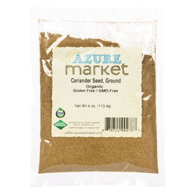Oregon Spice Organic Coriander Seed, Ground - 4 ozs.