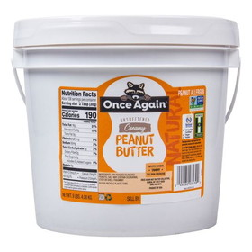 Once Again Nut Butter, Inc. Peanut Butter, Creamy Salted Natural - 9 lbs.