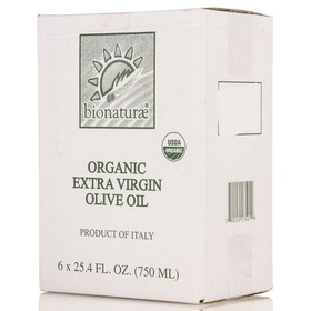 Bionaturae Extra Virgin Olive Oil, Cold Pressed, Organic - 6 x 25.4 ozs.