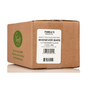 Pamela's Whenever Bars, Oat Cranberry Almond - 6 x 7.05 ozs.