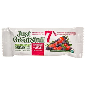 Betty Lou's Superberry Acai Bar, Organic - 3 x 1.50 ozs.