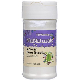 NuNaturals Stevia Pure Extract White Powder - 1 oz.