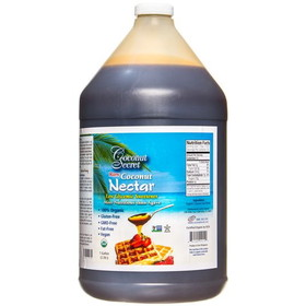 Coconut Secret Coconut Nectar, Raw, Organic - 1 gallon
