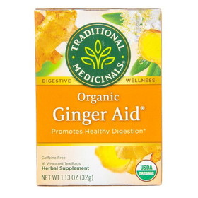 Traditional Medicinals Ginger-Aid Tea, Organic - 1 box