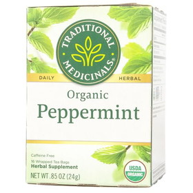 Traditional Medicinals Peppermint Tea, Organic - 1 box